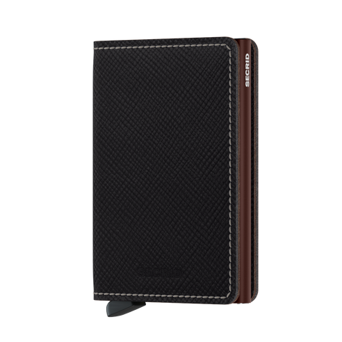 SECRID SLIMWALLET SAFFANO BROWN