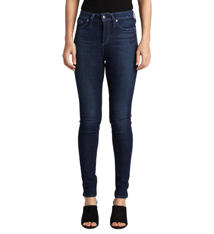 SILVER JEANS LADIES HIGH NOTE SKINNY JEAN