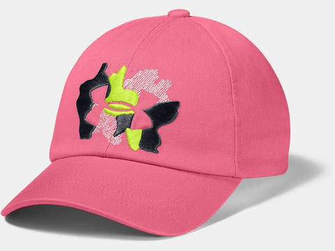 UNDER ARMOUR YOUTH SPARKLE PINK LEMONADE HAT