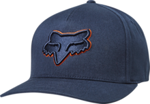 FOX MENS EPICYCLE NAVY/ORANGE HAT