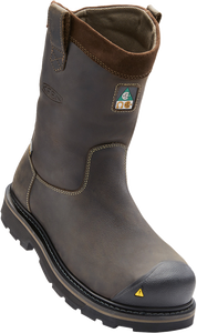 KEEN MENS CSA TACOMA WELLINGTON XT CASCADE BROWN BOOT