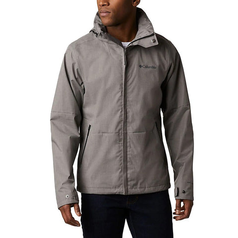 COLUMBIA MENS WESTBROOK BOULDER HEATHER JACKET