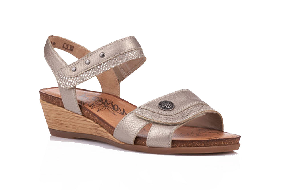 REMONTE LADIES R4450-90 BRONZE SANDAL
