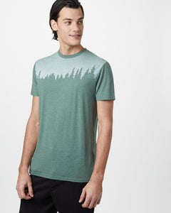 TEN TREE MENS JUNIPER CLASSIC FOREST GREEN TSHIRT
