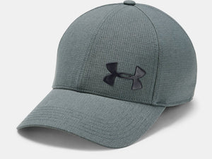 UNDER ARMOUR MENS AV CORE PITCH GREY HAT