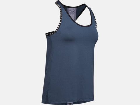 UNDER ARMOUR LADIES KNOCKOUT BLUE INK TANK