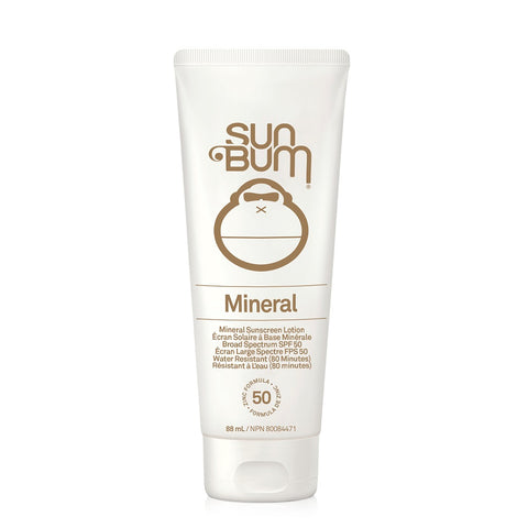 SUN BUM MINERAL SUNSCREEN SPF 50 3OZ LOTION