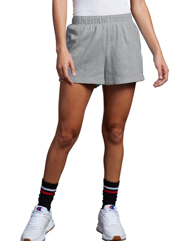 CHAMPION LADIES OXFORD GREY PRACTICE SHORT