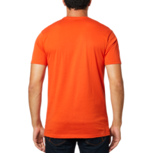 FOX MENS SHIELD SS ORANGE TSHIRT