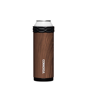 CORKCICLE 12OZ WALNUT WOOD SLIM ARCTICAN