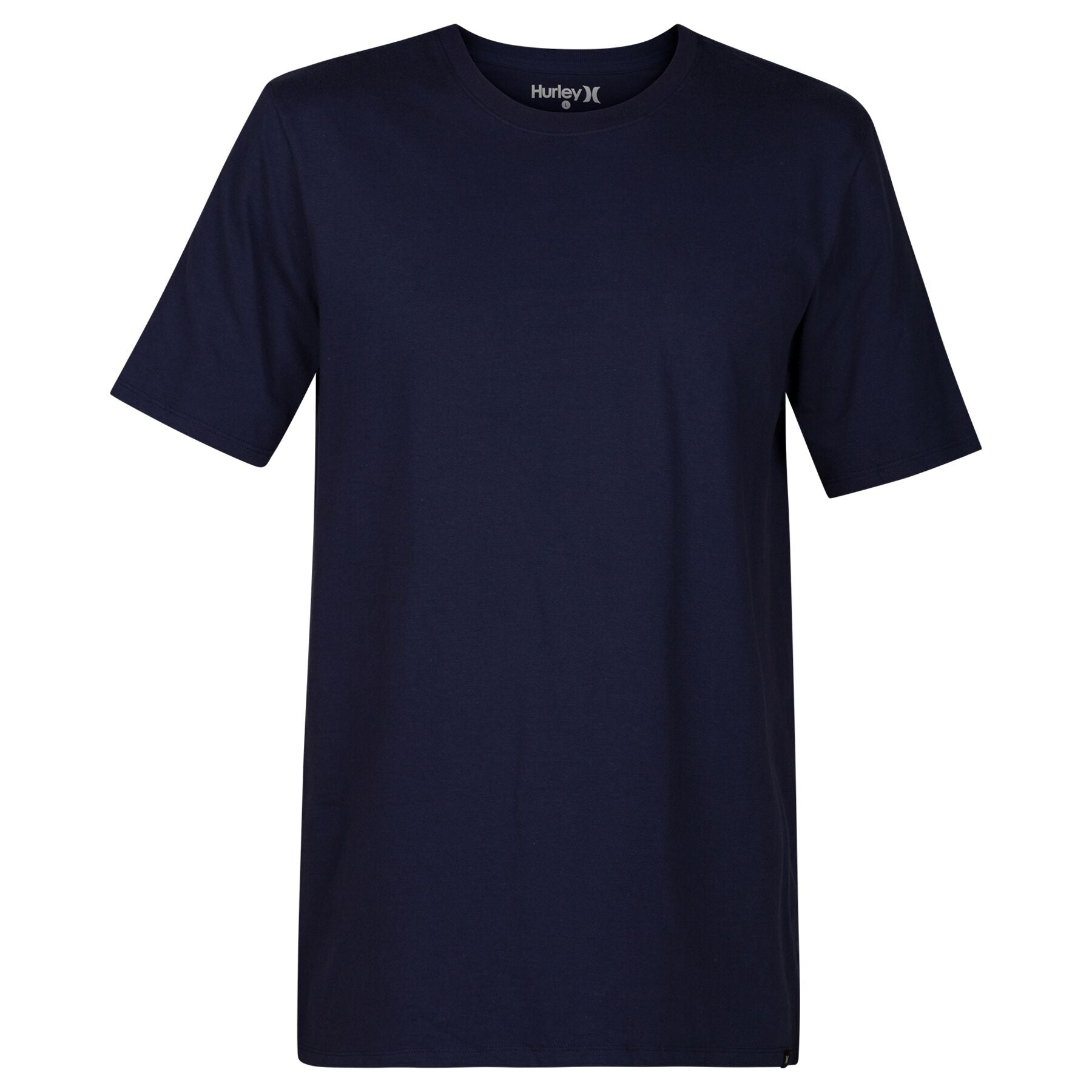 HURLEY MENS STAPLE NAVY TSHIRT