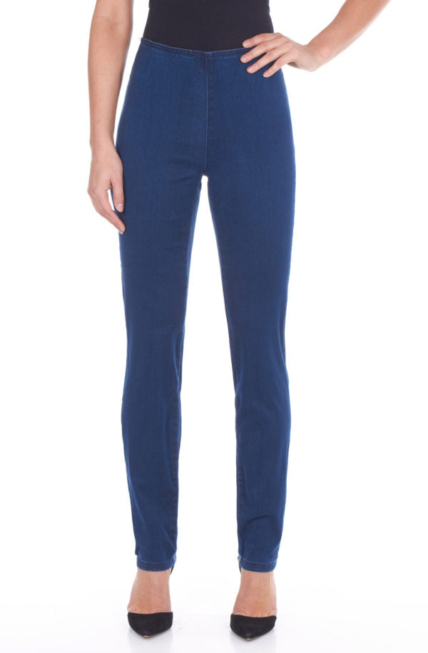 FDJ LADIES PULL-ON INDIGO DELUXE SUPER JEGGING
