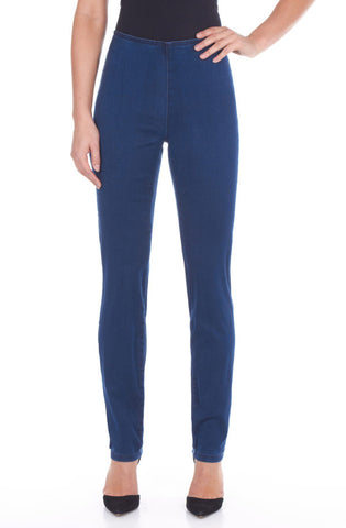 FDJ LADIES PETITE PULL ON INDIGO SUPER JEGGING