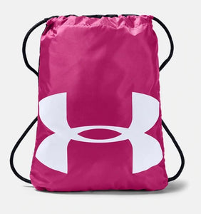 UNDER ARMOUR OZSEE TROPIC PINK/BLACK SACKPACK