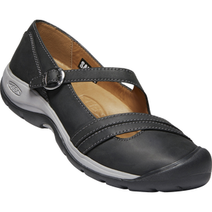 KEEN LADIES PRESIDIO II CROSS STRAP BLACK/RAVEN