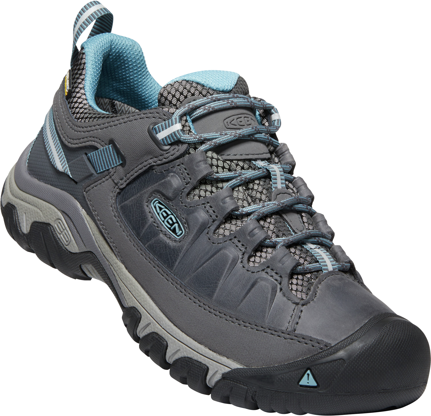 KEEN LADIES TARGHEE III WP MAGNET/ATLANTIC BLUE SHOE
