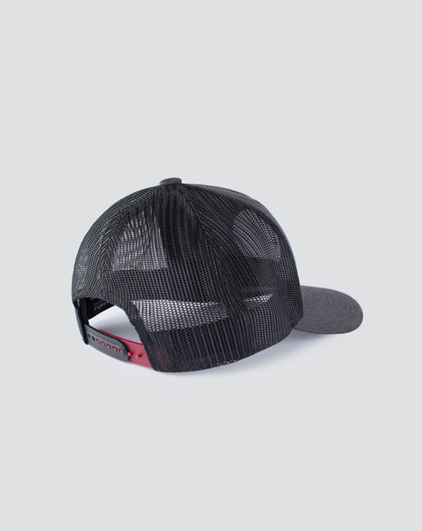 TRAVIS MATHEW MENS THE PATCH HEATHER GREY PINSTRIPE HAT