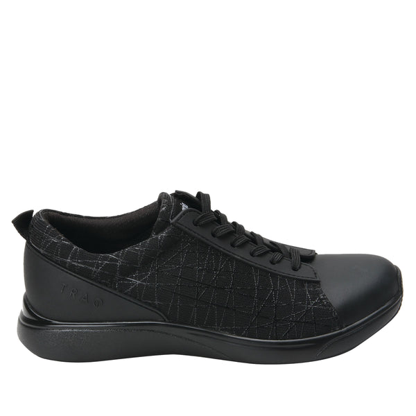 ALEGRIA LADIES TRAQ QEST INTERSECTION BLACK SHOE