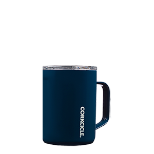 CORKCICLE 16 0Z GLOSS NAVY MUG