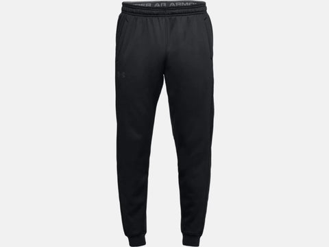 UNDER ARMOUR MENS FLEECE BLACK JOGGER
