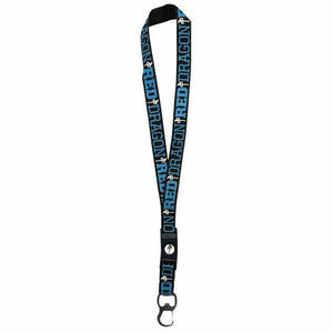 RDS BLACK/LIGHT BLUE LANYARD