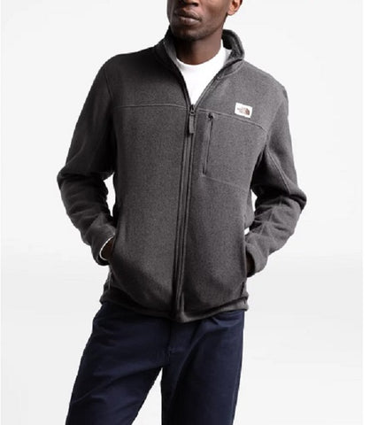 THE NORTH FACE MENS GORDON LYONS DARK GREY HEATHER FULL ZIP JACKET