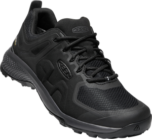 KEEN MENS EXPLORE WP BLACK/MAGNET SHOE