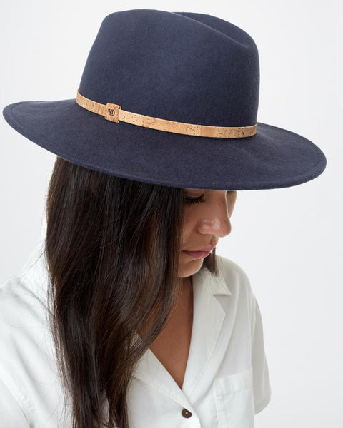 TEN TREE FESTIVAL DARK OCEAN BLUE HAT