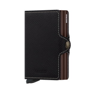 SECRID TWINWALLET SAFFIANO BROWN