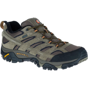 MERRELL MENS MOAB 2 WP WALNUT SHOE