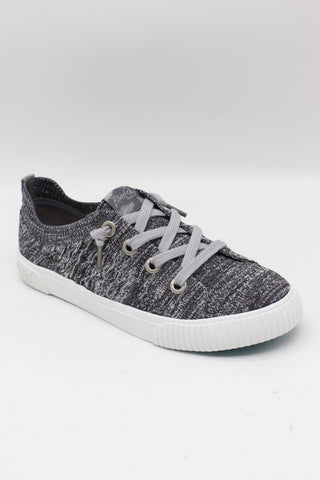 BLOWFISH MALIBU LADIES FREE SPIRIT HEATHER GREY FLYNIT SHOE
