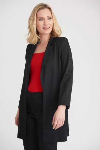 JOSEPH RIBKOFF LADIES BLACK BLAZER