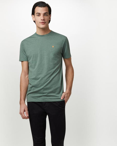 TEN TREE MENS CLASSIC FOREST GREEN HEATHER TSHIRT