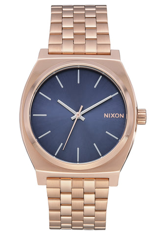 NIXON TIME TELLER ROSE GOLD/STORM WATCH