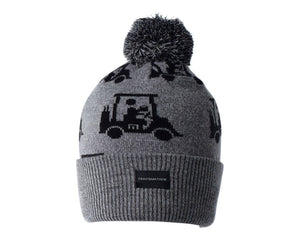 TRAVIS MATHEW MENS SWINGLES HEATHER GREY BEANIE
