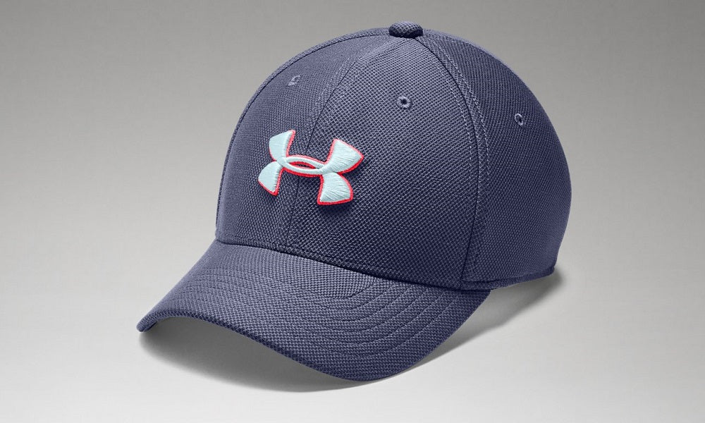 UNDER ARMOUR YOUTH BLITZING 3.0 BLUE INK HAT