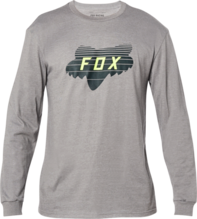 FOX MENS ACCELERATOR LS HEATHER GRAPHITE TSHIRT
