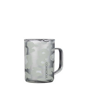 CORKCICLE 16OZ SNOW LEOPARD MUG