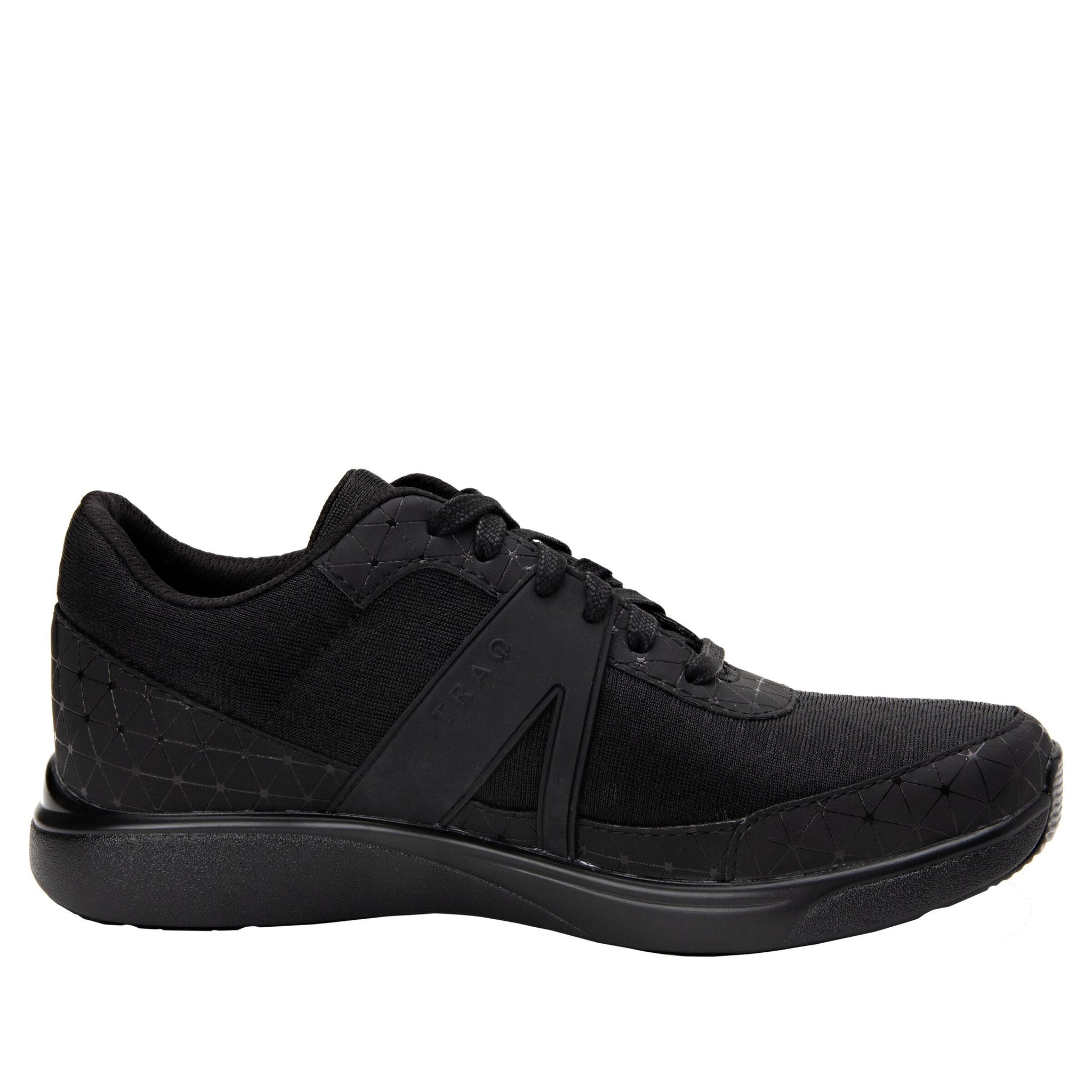ALEGRIA LADIES TRAQ QARMA BLACK SWELL SHOE