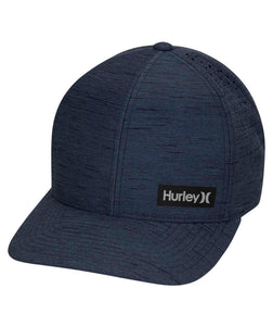 HURLEY MENS DRI FIT MARWICK ELITE NAVY HAT