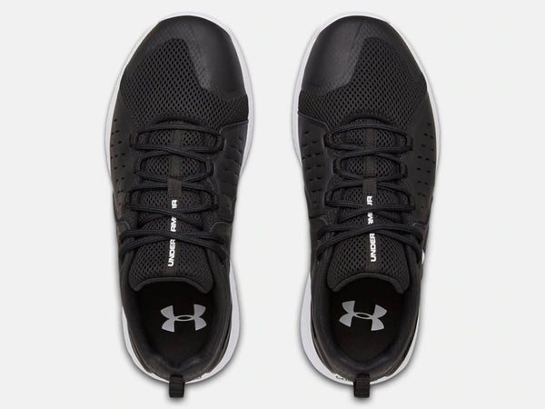 UNDER ARMOUR MENS CHARGED COMMIT TR2 BLACK TRAINING SHOE