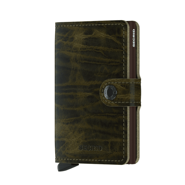SECRID MINIWALLET DUTCH MATIN OLIVE
