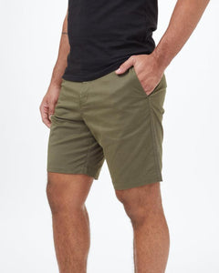 TEN TREE MENS TWILL LATITUDE OLIVE NIGHT GREEN SHORT