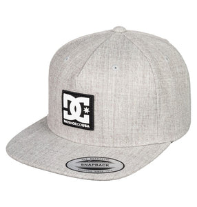 DC MENS SNAPDRIPP SNAPBACK GREY HEATHER HAT