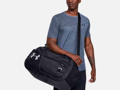 UNDER ARMOUR UNDENIABLE 4.0 MED BLACK DUFFLEBAG
