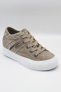 BLOWFISH LADIES MELONDROP TAUPE HISPTER SMOKED TWILL SHOE