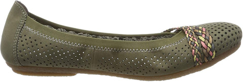RIEKER LADIES 41469-54 GREEN FLAT