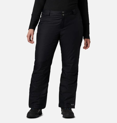 COLUMBIA LADIES BUGABOO OMNI-HEAT INSULATED BLACK SNOW PANT