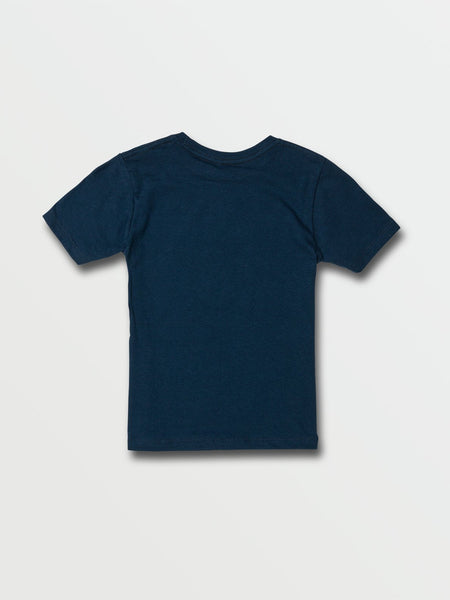 VOLCOM YOUTH LUXATE HARBOUR BLUE TSHIRT