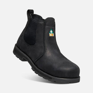 KEEN MENS CSA SEATTLE ROMEO BLACK/BLACK BOOT